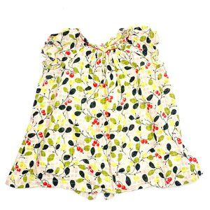 Bonpoint Baby Colorful Cherry Print Dress